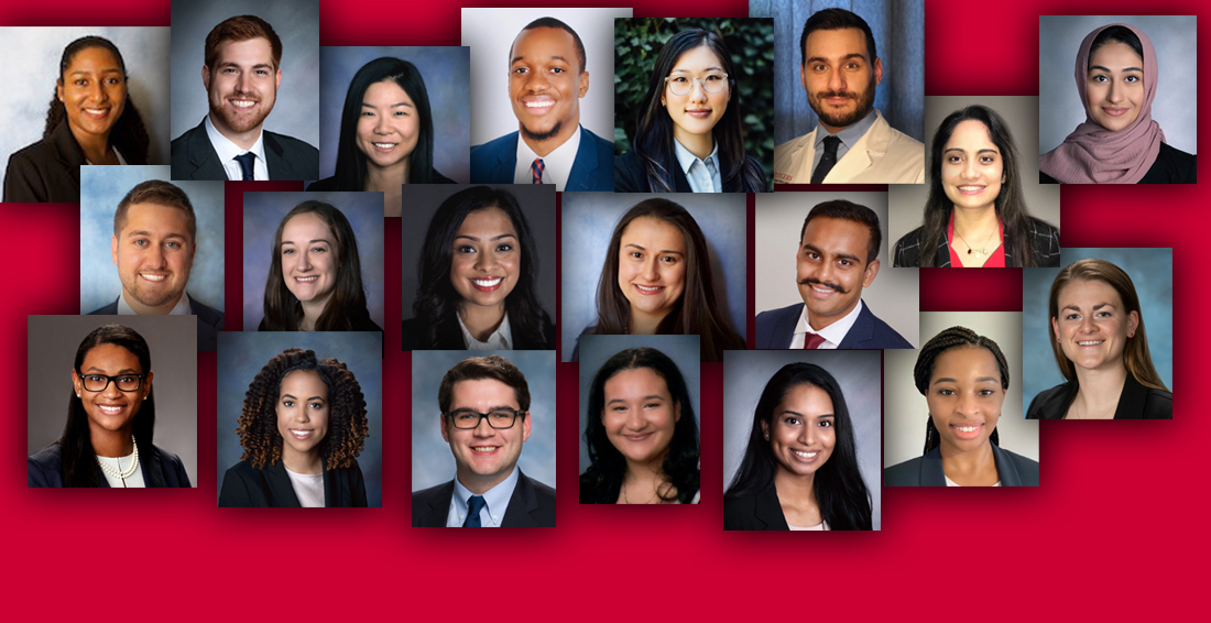 Portrait collage of 2021 Rising Star honorees